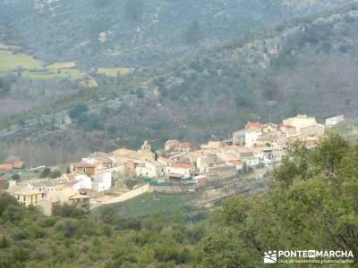 Monumento Natural Tetas de Viana - Trillo; conocer gente madrid; rutas por españa